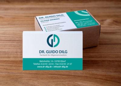 Dr. Guido Dilg Visitenkarte 2